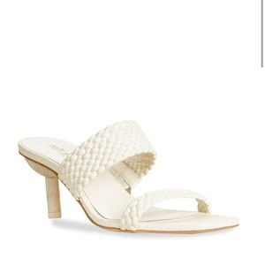 New Cult Gaia Kal Woven Sandals Size 38.5/US 8.5